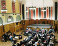 A recent Chopin Society recital in Westminster Cathedral Hall