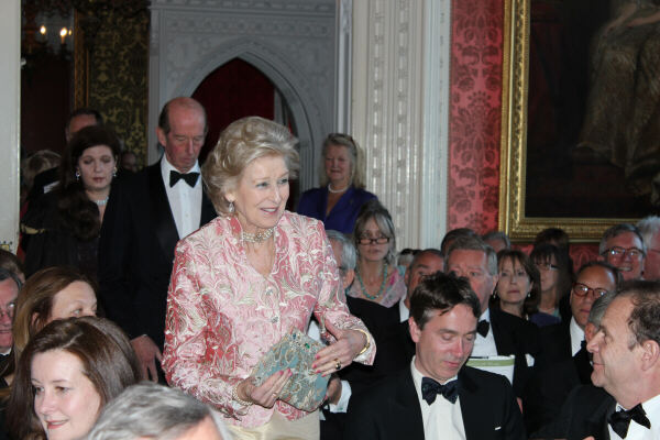 HRH Princess Alexandra at the Strawberry Hill concert